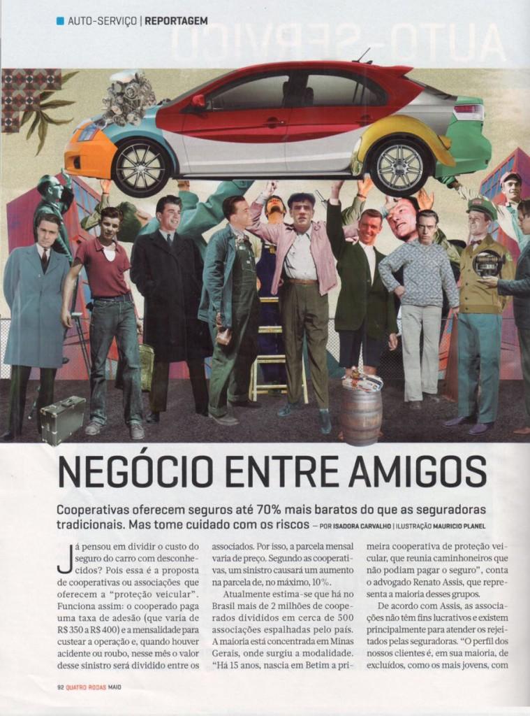 Revista quatro rodas - Proteção Veicular